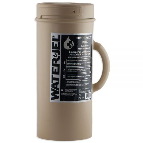 Water-Jel Tactical Burn Blanket-Plus (Canister)