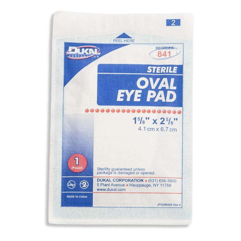 Oval Eye Pads