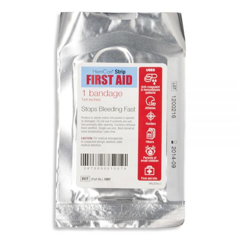 HemCon First Aid Bandage, 1x4