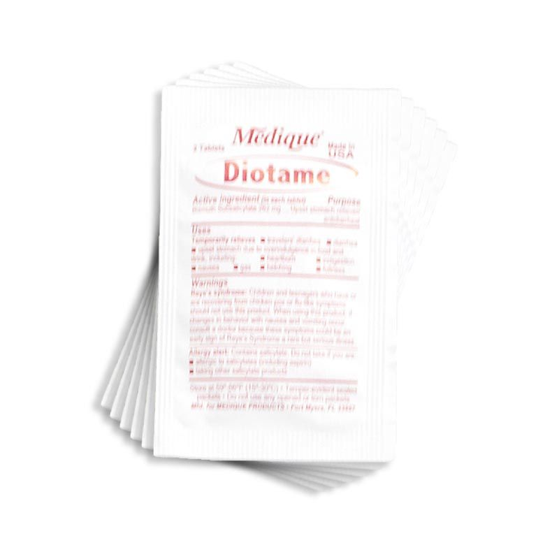 Diotame 262 mg tablets (Stomach)