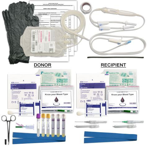 Whole Blood Collection & Transfusion Kit
