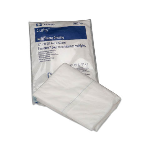 Curity Multi-trauma Dressing 10x30