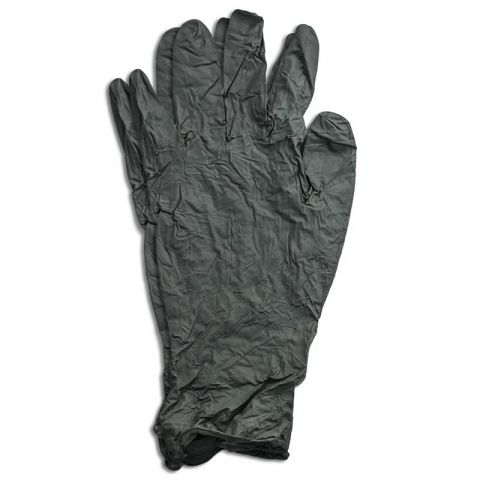 Tactical Defender Nitrile Gloves, OD