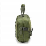 Chinook Medical Gear Combat Lifesaver kit and bag olive drab side