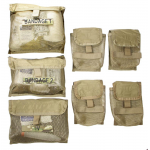 Chinook Medical Gear Medic kit and bag inserts coyote brown