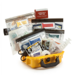 Home & Vehicle Medical Kit in Waterproof Hard Case