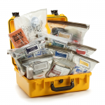 Mobile Aid Kit Advanced in Hard Case with Medical Supplies