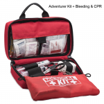 Adventurer Kit with Medical Supplies and Bleeding and CPR Kit