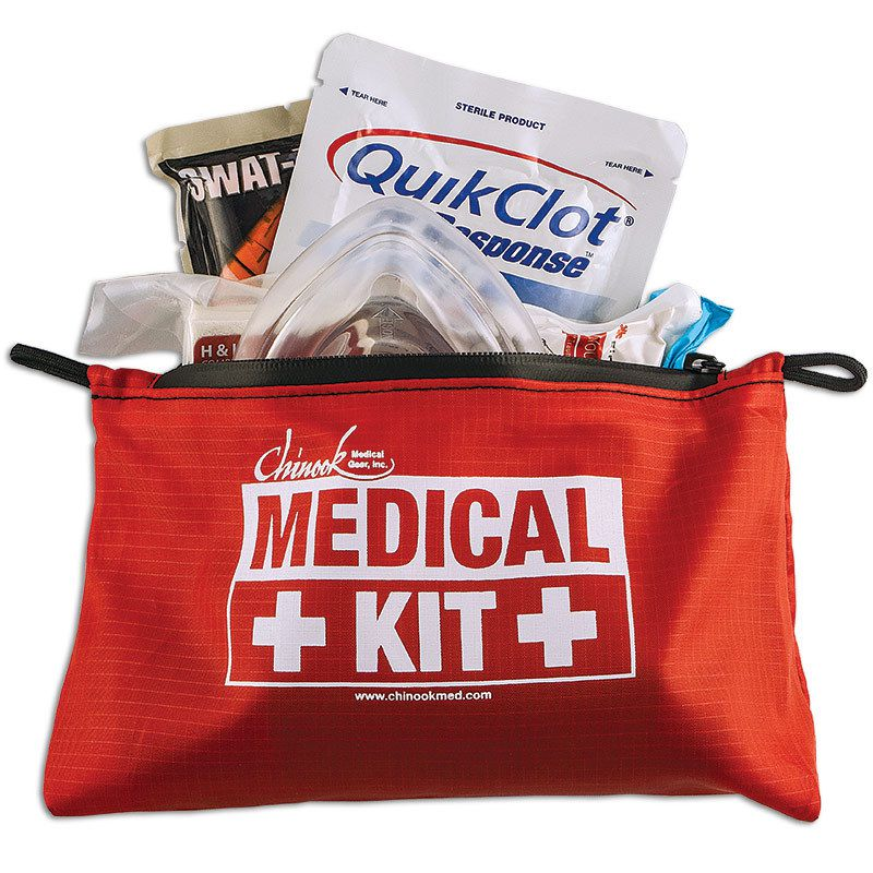 Chinook Medical Gear Bleeding & CPR Advanced Kit