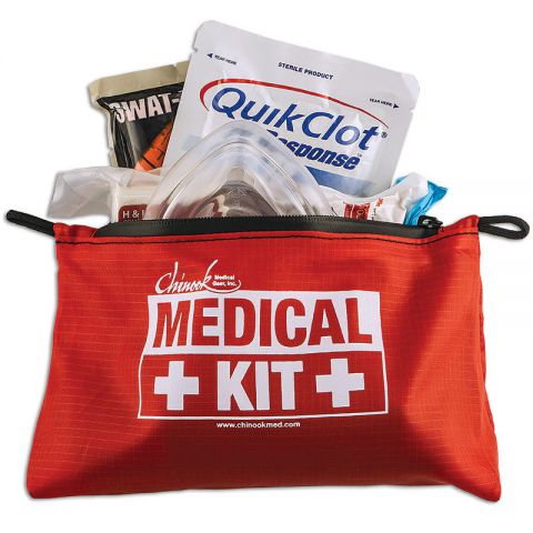 Chinook Medical Gear, Inc. Bleeding & CPR Advanced Kit