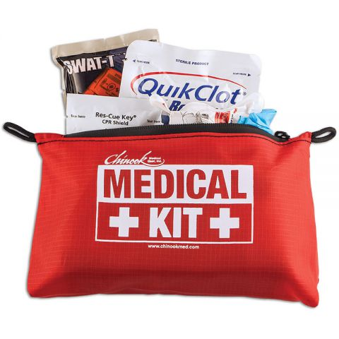 Chinook Medical Gear Bleeding & CPR Basic Kit