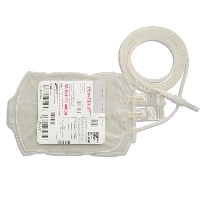 Fenwal, Inc. Single Blood-Pack Unit 450mL CPD