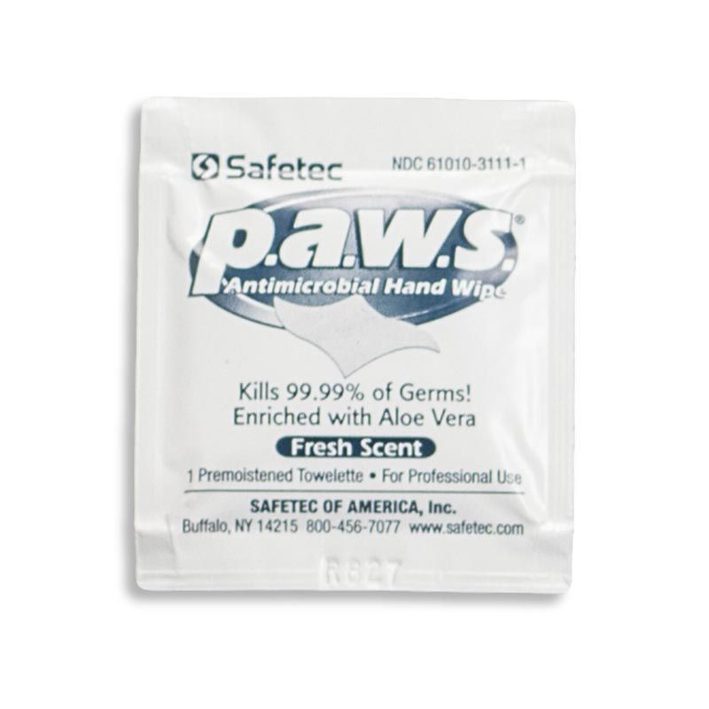 Chinook Medical Gear, Inc. P.A.W.S. - Personal Antimicrobial Wipes