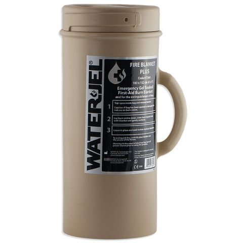 Water Jel Technologies Water-Jel Tactical Burn Blanket-Plus (Canister)
