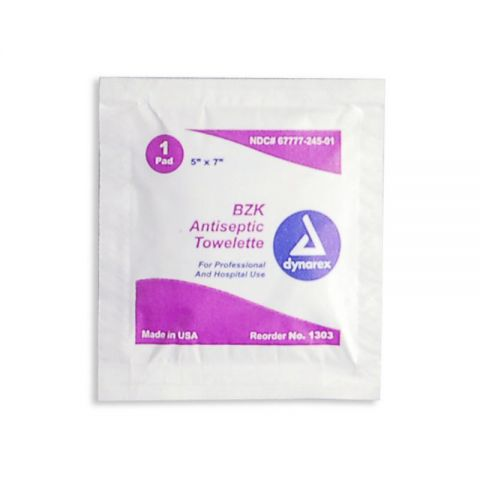 Chinook Medical Gear, Inc. Antiseptic Towelettes