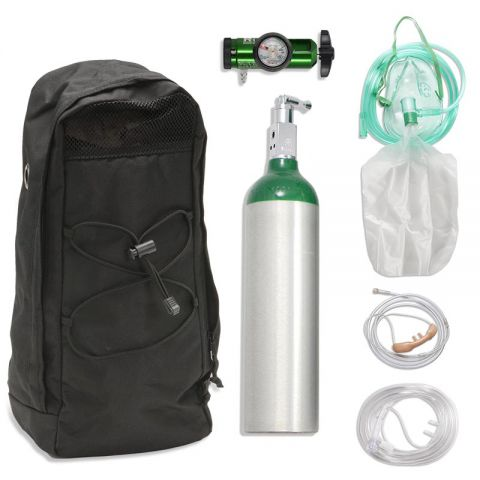 Chinook Medical Gear, Inc. Aluminum Alloy Oxygen Systems - M6 (164L)