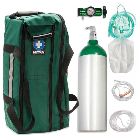 Chinook Medical Gear, Inc. Aluminum Alloy Oxygen Systems - Jumbo D (647L)