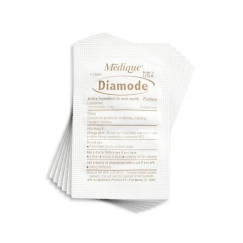 Chinook Medical Gear, Inc. Diamode 2 mg Caplet (Anti-diarrheal)