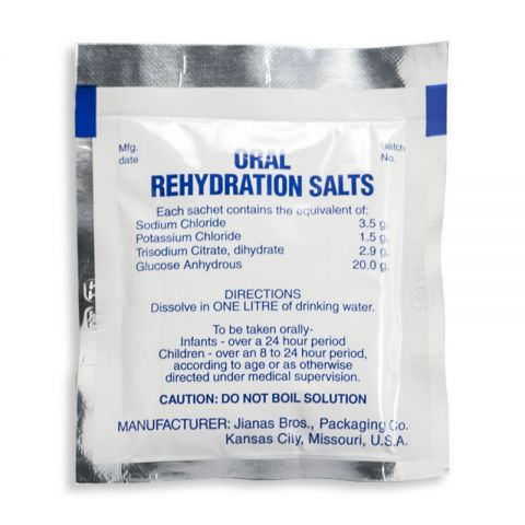 Chinook Medical Gear, Inc. Oral Rehydration Salts