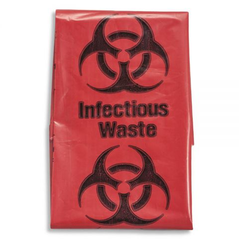 Blizzard Biohazard Waste Bags