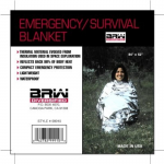 Emergency/Survival Blanket