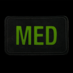 Glow-in-the-dark MED Patch