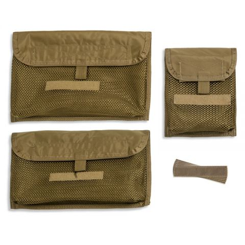 Tactical Tailor Chinook Mesh Pouches & Name Tags
