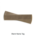 Blank Medical Supply Name Tag