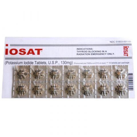Moore Medical Corp. Potassium Iodide Tabs