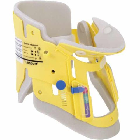 Henry Schein, Inc Ambu Mini Perfit ACE Extrication Collar, Pediatric Yellow