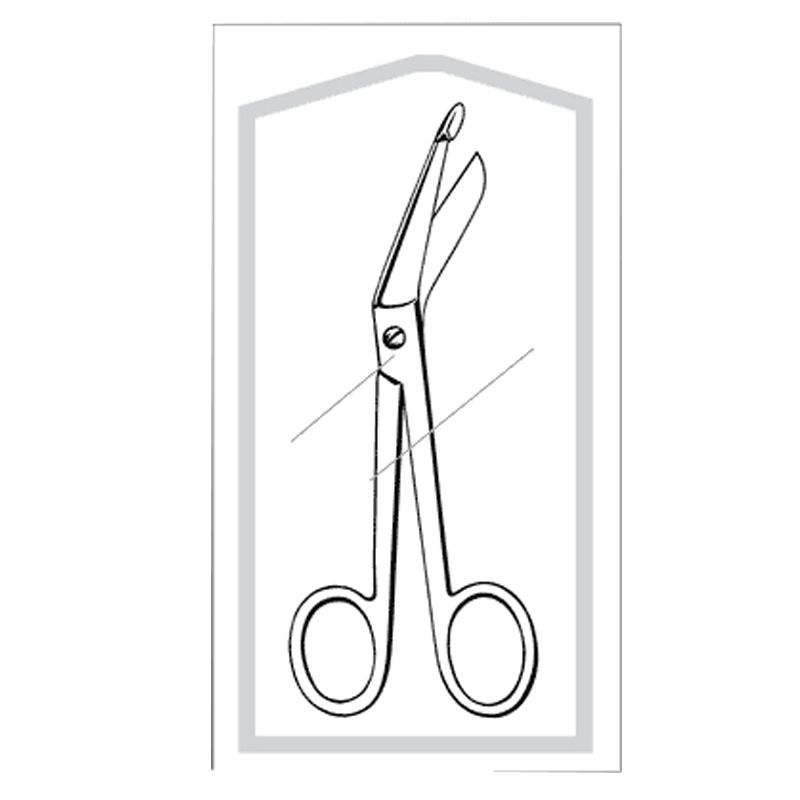 Sklar Instruments Bandage Scissors, 5.5
