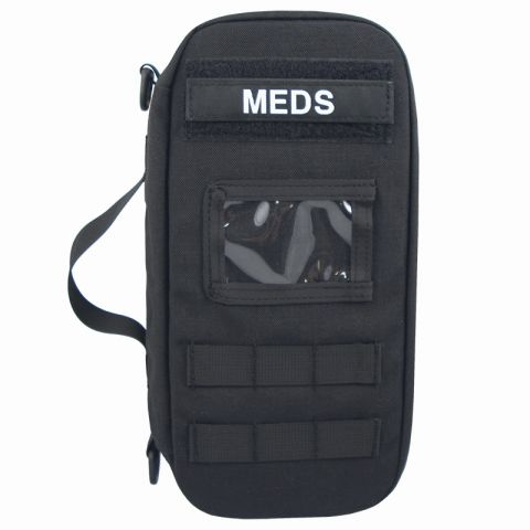 Chinook Medical Gear Large Medications Bag, Black