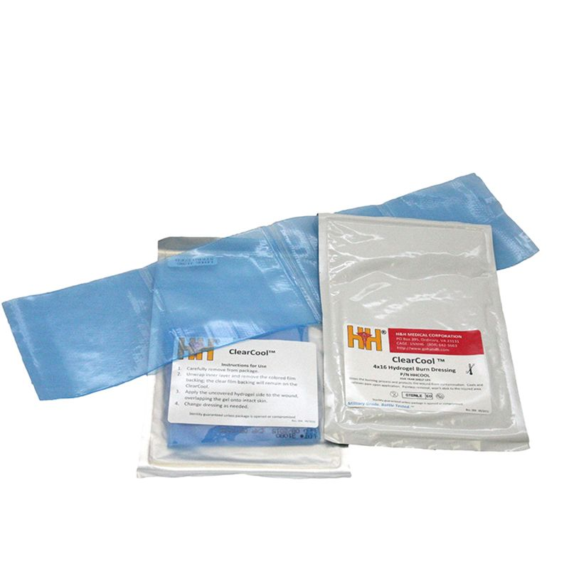 H&H Medical ClearCool Hydrogel Burn Dressing 4x16