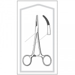 Kelly Hemostatic Forceps Curved