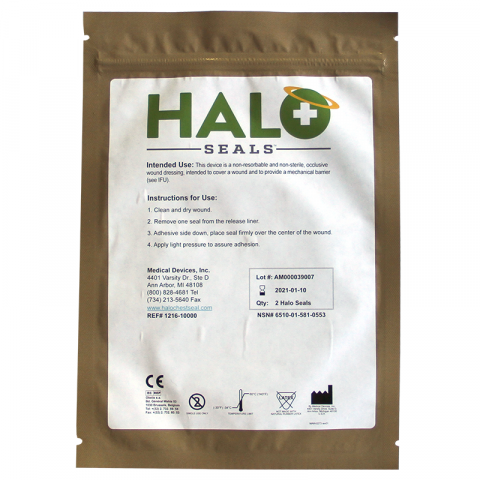 Curaplex by Bound Tree HALO Seals (2/pk)