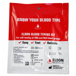 EldonCard Blood Typing Kit