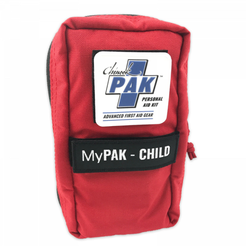 Chinook  Medical Gear My PAK-Child (Personal Aid Kit), Red