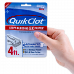 QuickClot Front Packaging