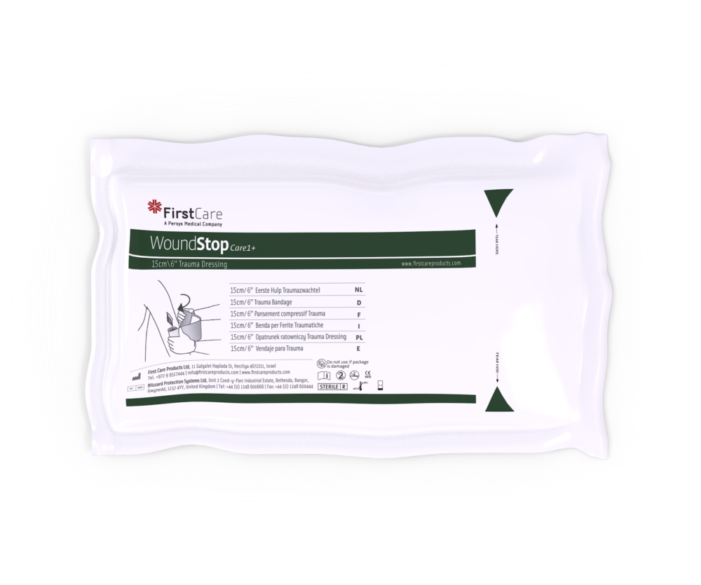 "PerSys Medical Woundstop Care 1+ 6"" Trauma Dressing"