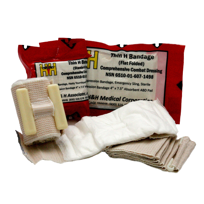 h&h medical Thin H Bandage Flat Fold