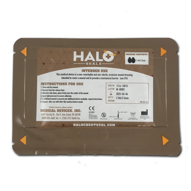 HALO Seal Two Pack IFAK