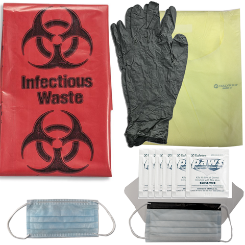 Chinook Medical Gear, Inc. Personal Protection Equipment Kit, Advanced (TMM-PPE, Advanced)