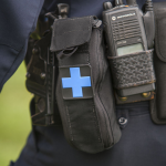 Police officer medical kit