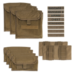 Chinook Medical Gear Medical Panel Insert kit and bag coyote brown inserts and pouches